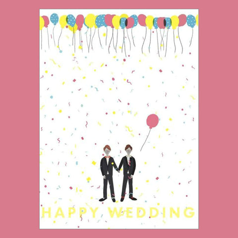Carolyn Suzuki Wedding Confetti Card