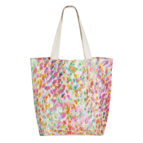 Hello Sunday Mist Rose Tote
