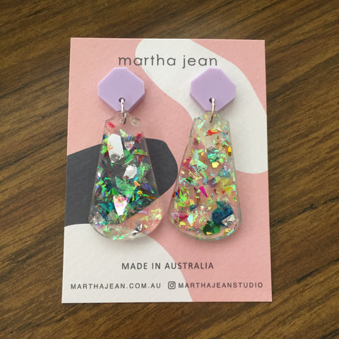Martha Jean Firework Tal Earrings