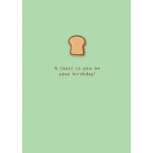 Ohh Deer Birthday Toast Card with Pin