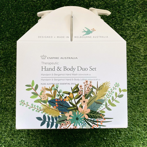 Empire Therapeutic Mandarin and Bergamot Hand Care Duo