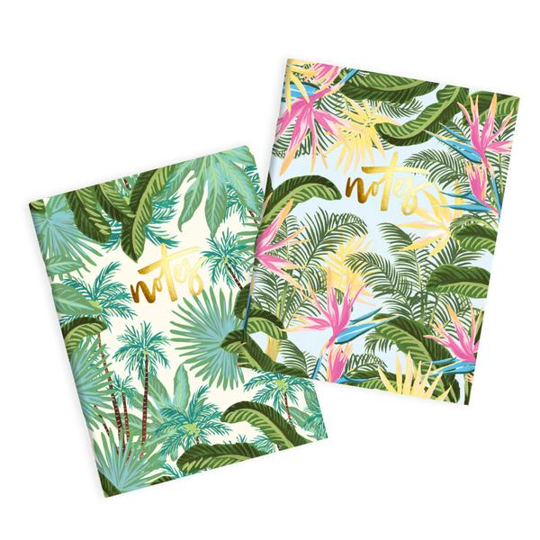Fox & Fallow Bird of Paradise Notebook Set