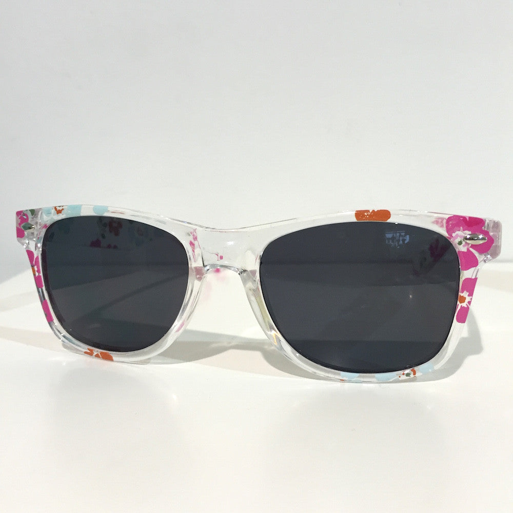 Unity Kids' Clear Floral Sunglasses