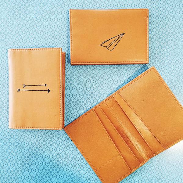 Shara Porter Arrows Passport Holder