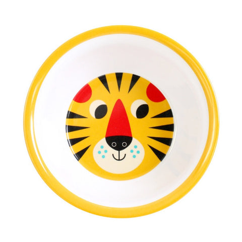 Omm Design Tiger Face Bowl