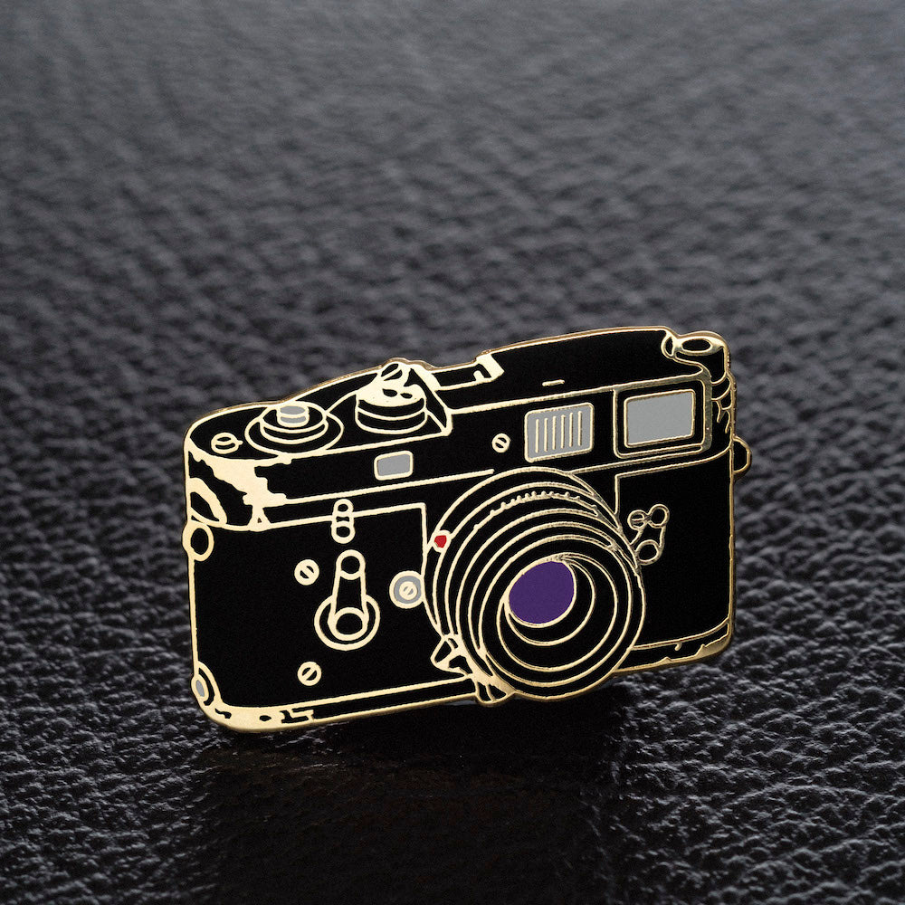 The Art of Film Rangefinder Camera Pin