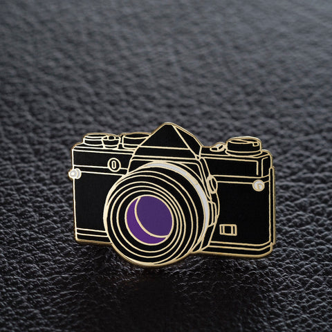 The Art of Film SLR Camera Pin