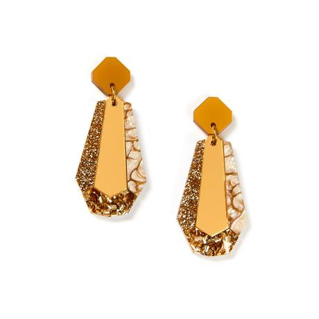 Martha Jean Gold Reva Earrings