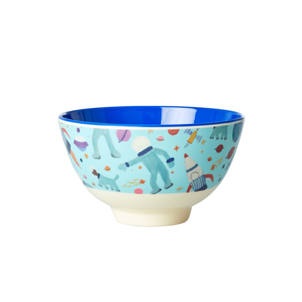 Rice Small Melamine Bowl - Space