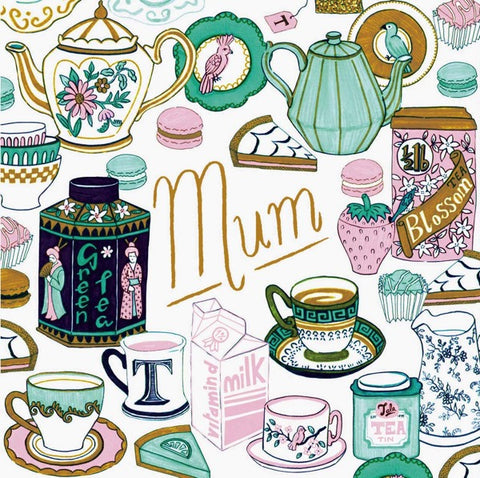 Ohh Deer Tea Time Mum Card