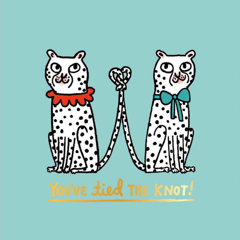 Ohh Deer You've Tied the Knot Card