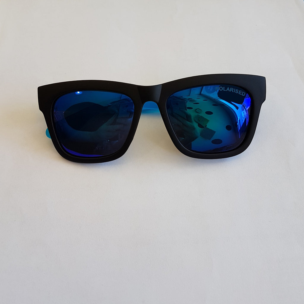 Unity Kids' Black & Blue Sunglasses