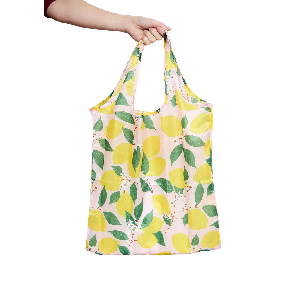Project Ten Large Pocket Shopper Lemons
