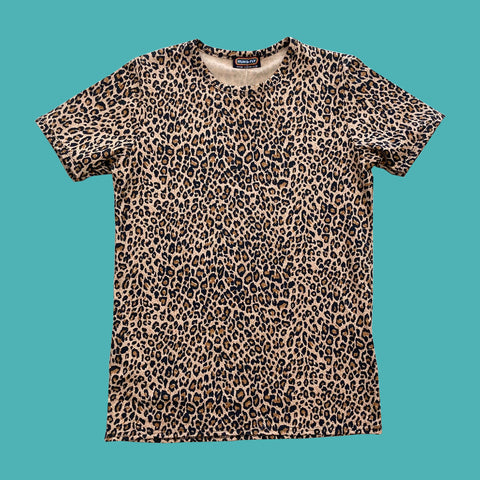 Run and Fly Leopard Tee Shirt