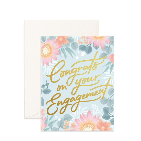 Fox & Fallow Congrats on Your Engagement Card