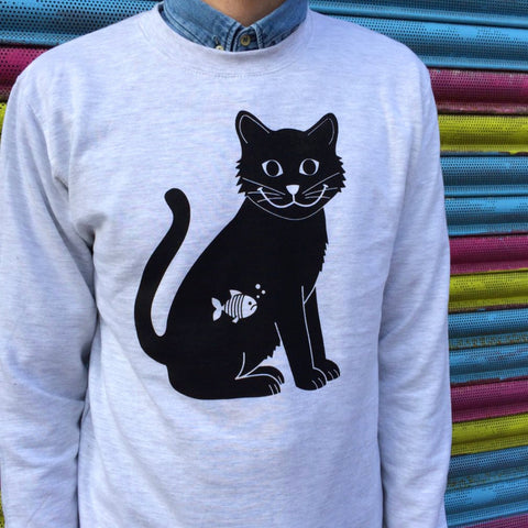 Hello Dodo Happy Cat Sweater