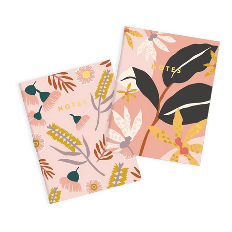 Fox & Fallow Orchid Notebook Set