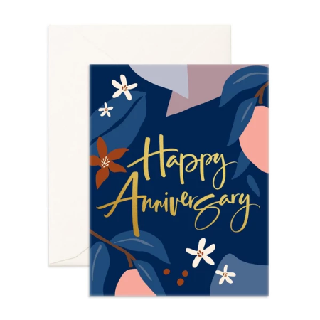 Fox & Fallow Happy Anniversary Arcadia Card