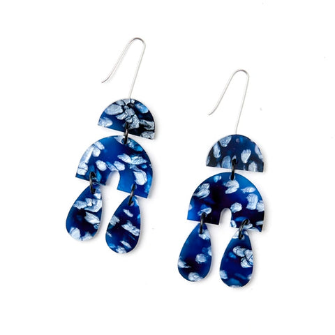 Martha Jean Blue Ivy Earrings