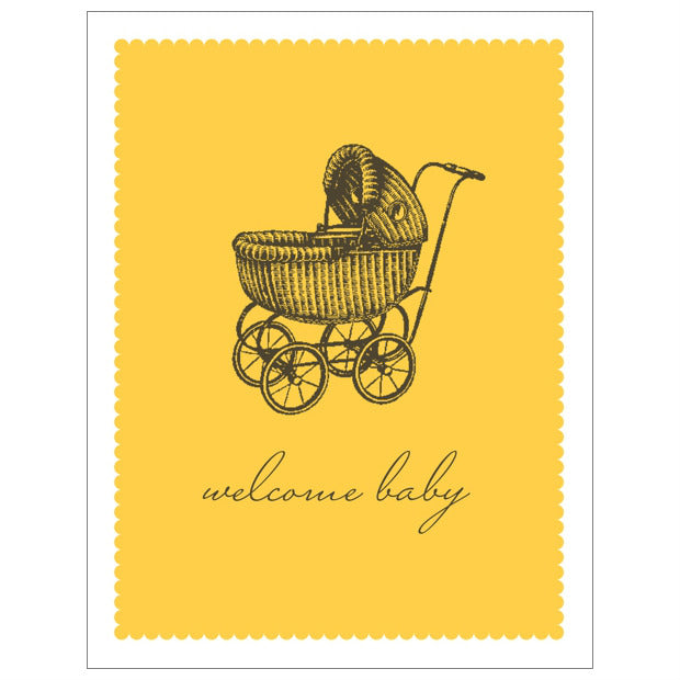Breathless Welcome Baby Card
