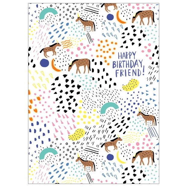 Carolyn Suzuki Happy Birthday Friend Card