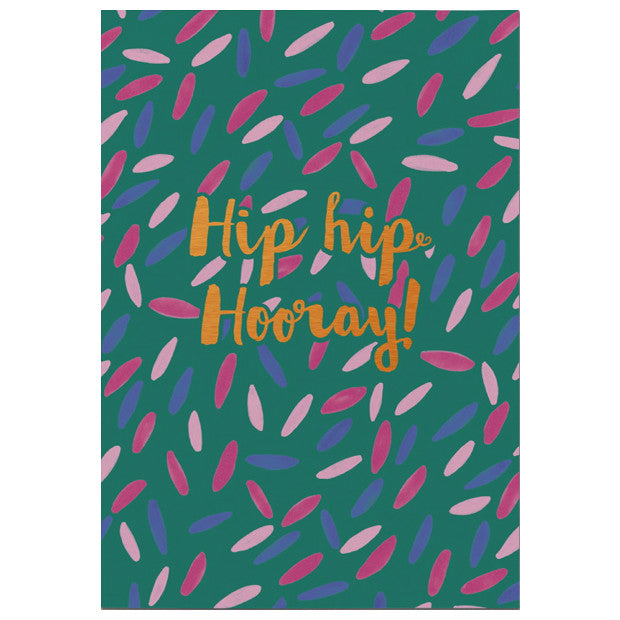 Chase & Wonder Hip Hip Hooray Card
