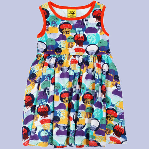 Duns Jellyfish Sleeveless Kids' Dress