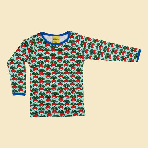 Duns Radish Long Sleeve Kids' Top - Beach Glass