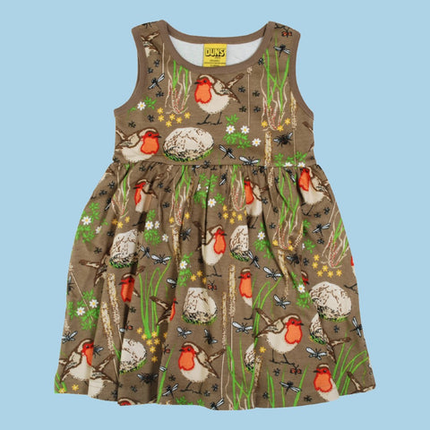 Duns Robin Sleeveless Dress - Timber Wolf