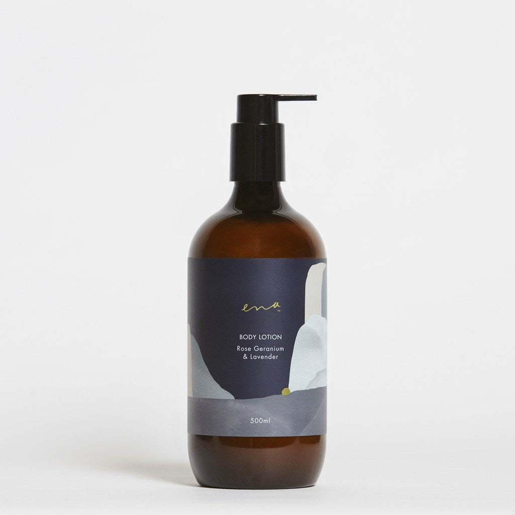 Ena Rose Geranium & Lavender Body Lotion