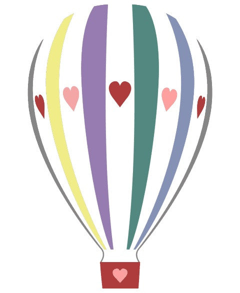 Ruck Rover Hot Air Balloon Card