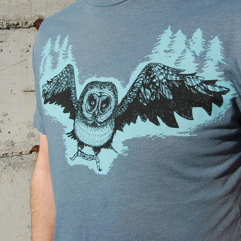 Slow Loris Great Grey Men's Tee