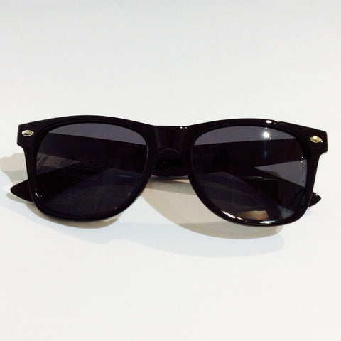 Unity Kids' Classic Black Sunglasses