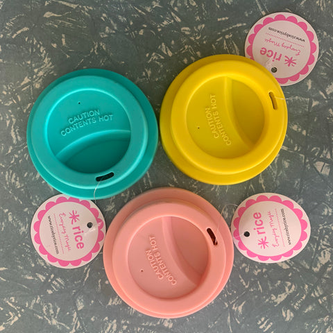Rice Silicone Lids