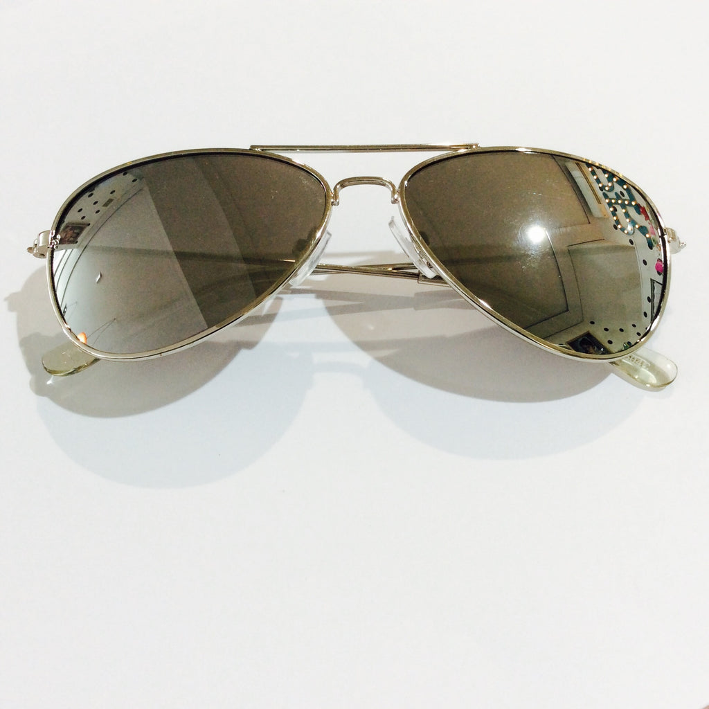 Unity Kids' Aviator Style Sunglasses