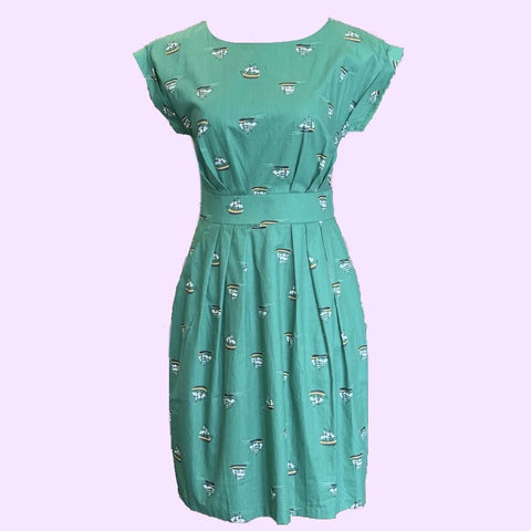Origami Doll Walk in the Park Sailboat Dress