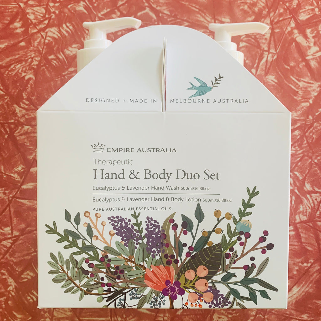Empire Therapeutic Lavender and Eucalyptus Hand Care Duo