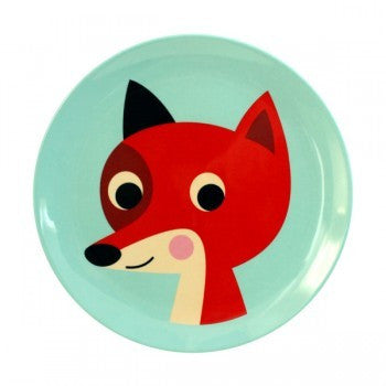 Omm Design Fox Plate
