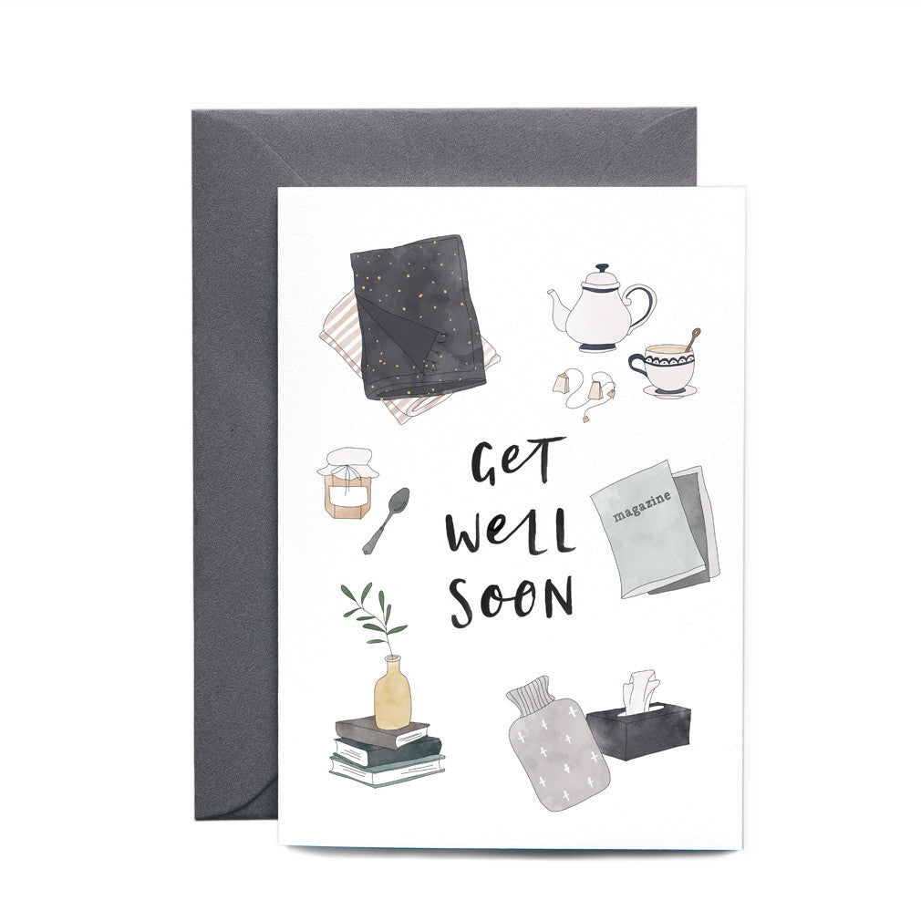 In the Daylight Get Well Soon Card