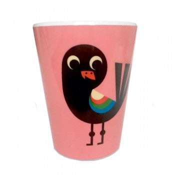 Omm Design Pink Bird Cup