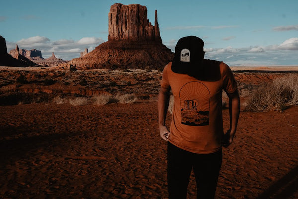 moore collection desert sunset tshirt