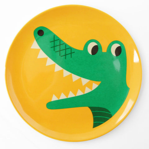 Omm Design Crocodile Plate