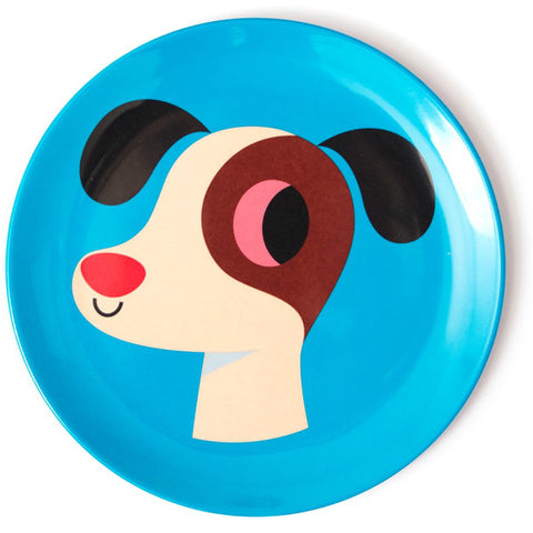 Omm Design Dog Plate
