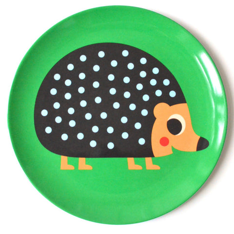 Omm Design Hedgehog Plate