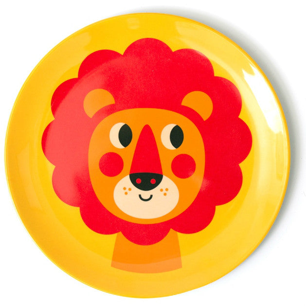 Omm Design Lion Plate
