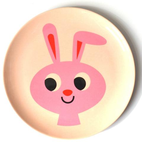 Omm Design Bunny Plate