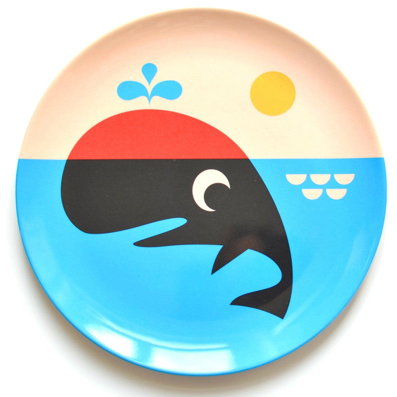 Omm Design Whale Plate