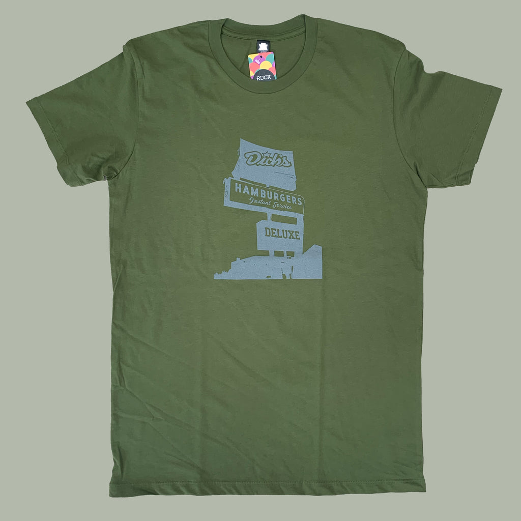 Ruck Rover Serving Seattle Tee