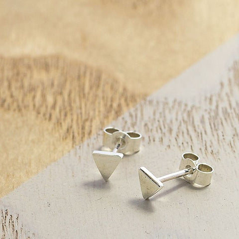 Ayana Mini Triangle Studs