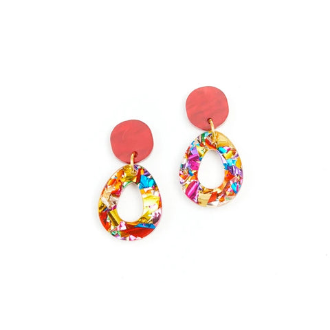 Martha Jean Rainbow Tempest Earrings